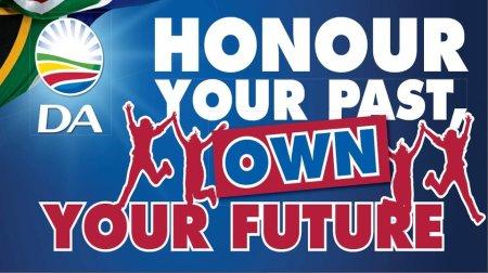 DA honour your past