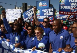 DA marches in johannesburg