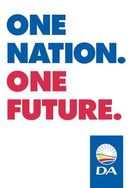 DA one nation