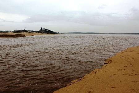Seekoei river flooding