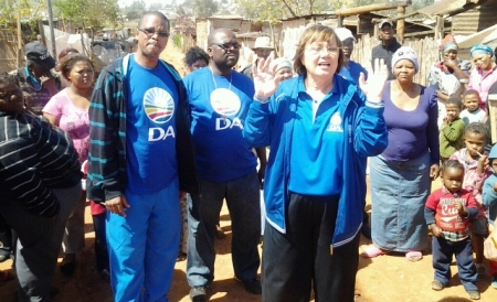 Elza Van Lingen preaches that the DA offers a better life for all.