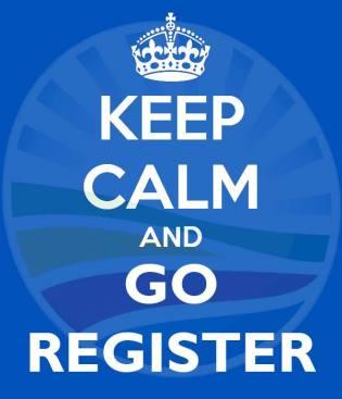 keep calm register