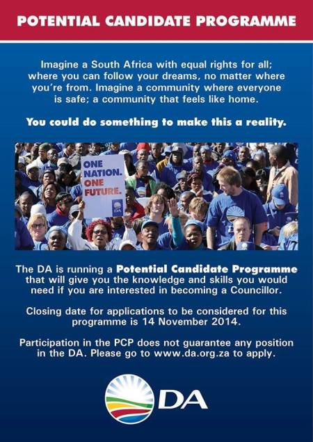 potential candidate program