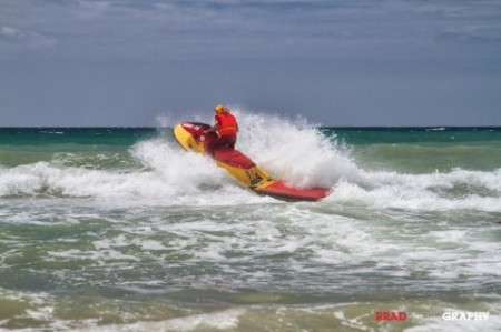 The NSRI are always on duty in Jeffreys Bay. Photo: RRAD