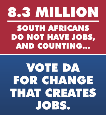 8.3 million sa dont have jobs