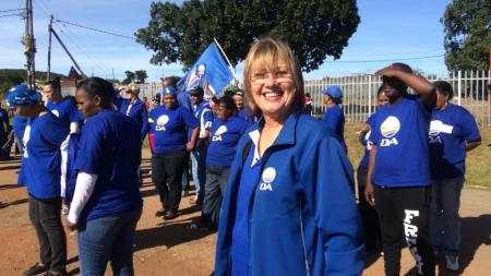 Mayor Elza Van Lingen is sorting out the Kouga fleet of vehicles