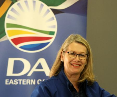 Desiree Van Der Walt warned about a split vote in Kouga.