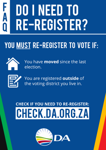 register to vote democratic alliance kouga
